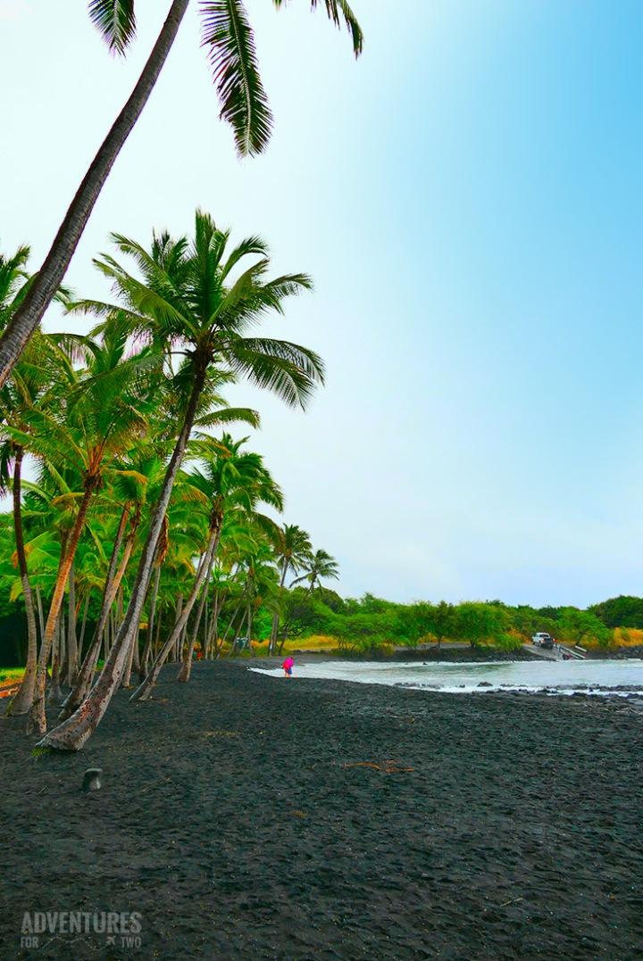 HAWAII PUNALUU BLACK SAND BEACH PIN