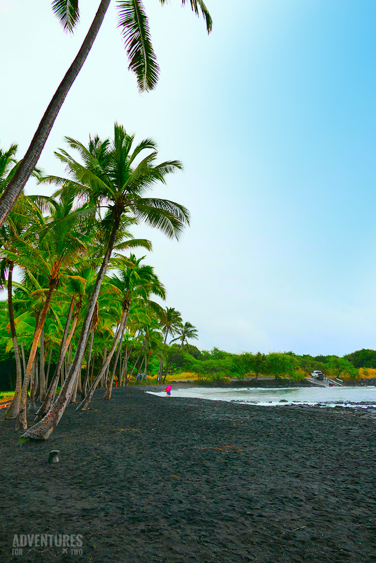 HAWAII PUNALUU BLACK SAND BEACH PIN
