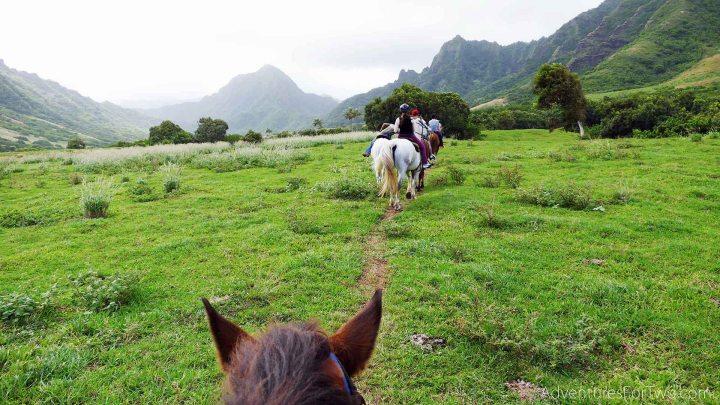 Kualoa Ranch Horseback riding Hawaii