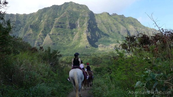 Kualoa Ranch Horseback riding Hawaii