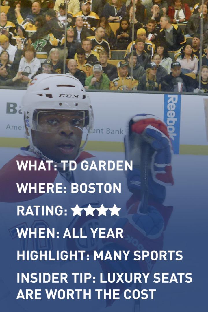 BOSTON TD GARDEN infographic
