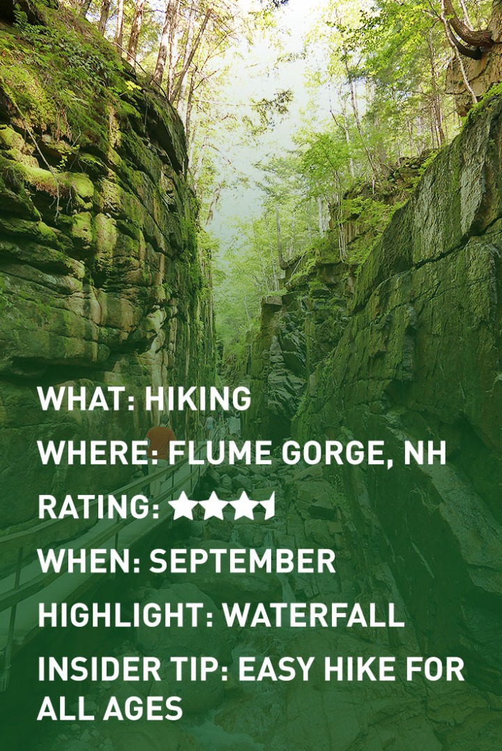 FLUME GORGE infographic