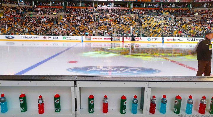 TD Garden Player's Bench Hockey