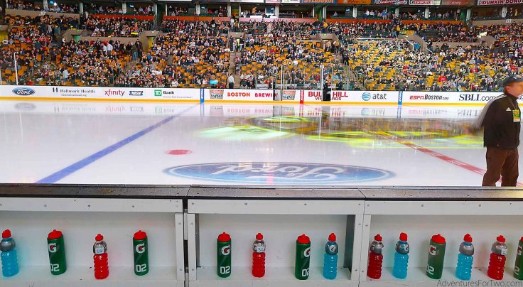 TD Garden Player's Bench Hockey