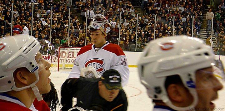 Carey Price Lars Eller Montreal Canadiens