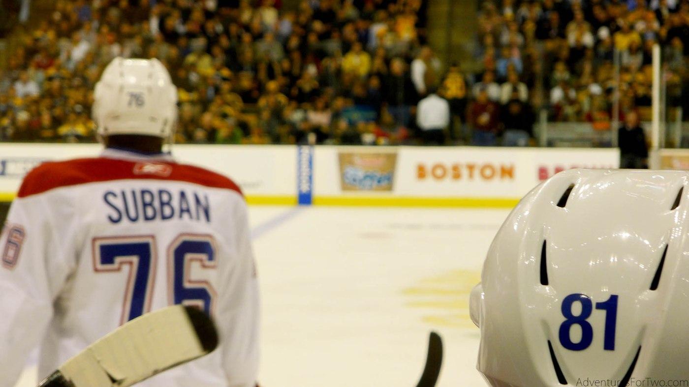 PK Subban Montreal Canadiens TD Garden Boston