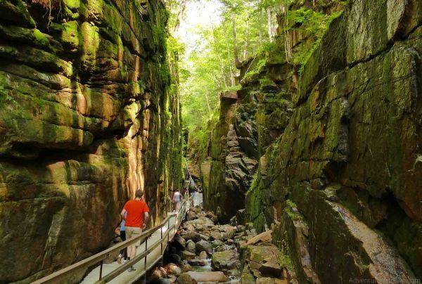 Flume Gorge Franconia Park NH