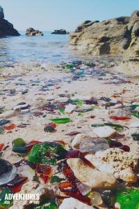 bermuda SEA GLASS PIN