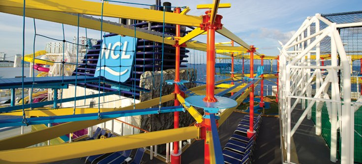 Norwegian Breakaway Ropes Course