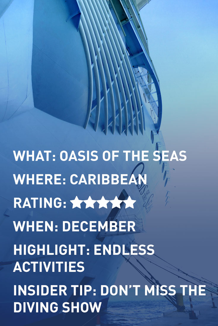 OASIS OF THE SEAS INFOGRAPHIC