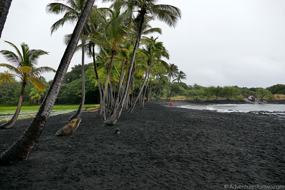 Black Sand Beach Big Island Hawaii