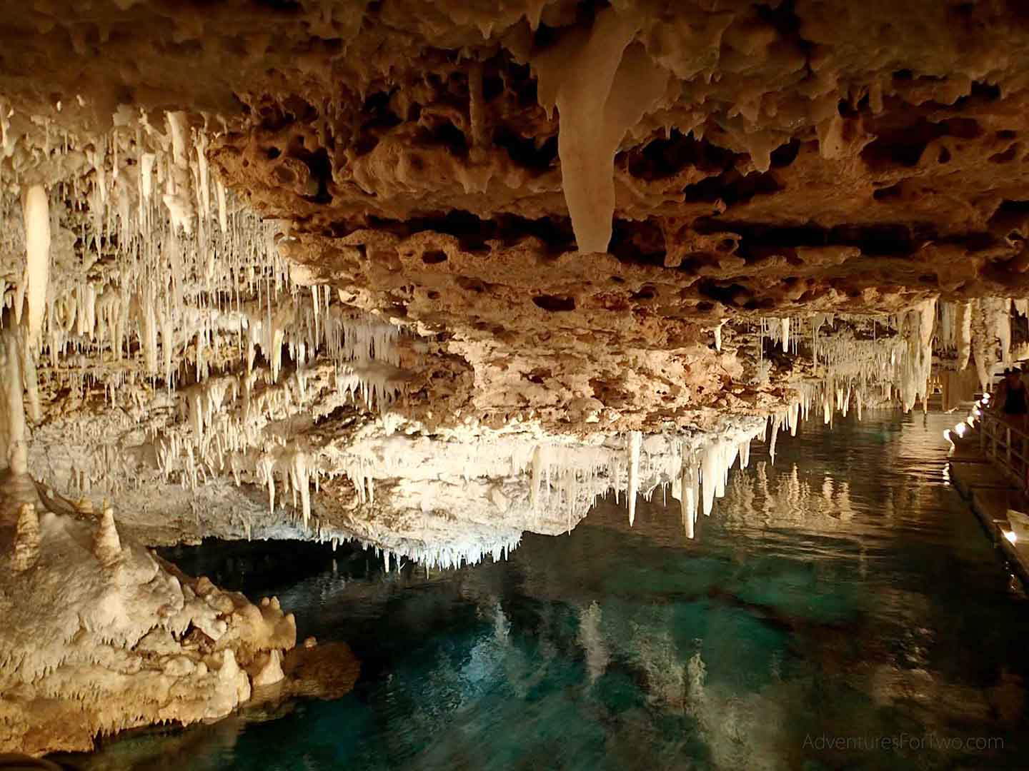Crystal and Fantasy Caves in Bermuda