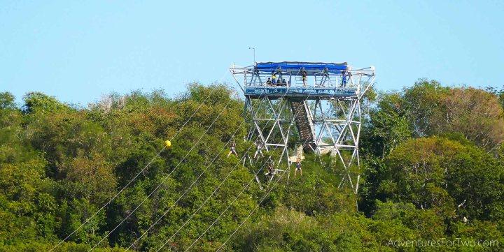 Zip line Haiti