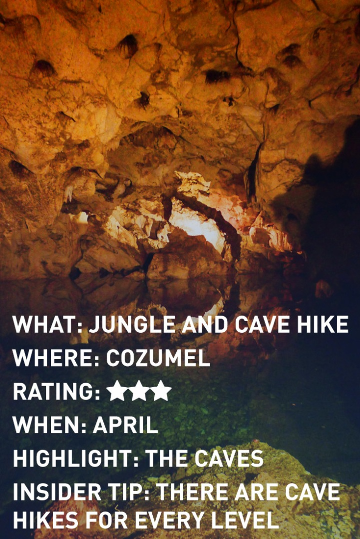 COZUMEL HIKE INFOGRAPHIC