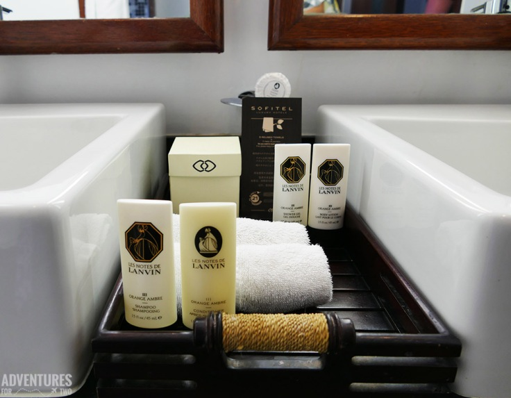 SOFITEL LANVIN TOILETRIES