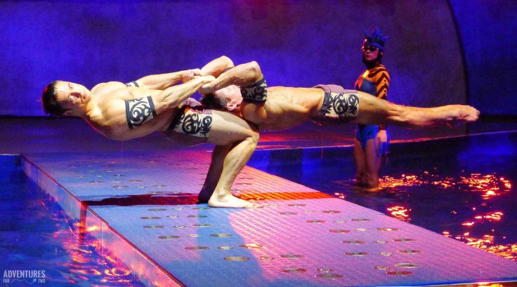 allure of the seas acrobats